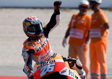 Pedrosa resurge en Misano y se impone a Rossi y Lorenzo