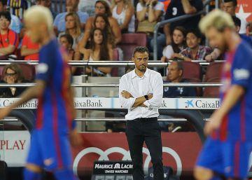 El Barça se pierde en las áreas