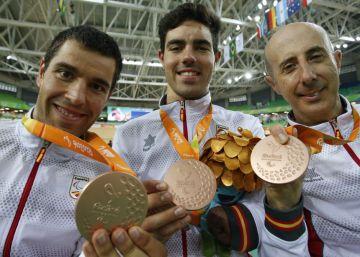 El ciclismo español pedalea hasta el bronce en velocidad