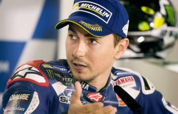Lorenzo, en la conferencia de prensa.
