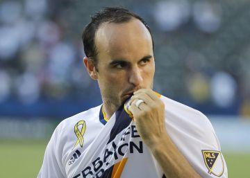 Dos Santos es la estrella en la vuelta de Donovan al fútbol