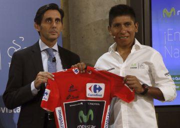 Nairo Quintana renueva con el Movistar Team hasta 2019