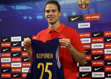 """Koponen: """"Con los años he aprendido a jugar sin balón"""""""