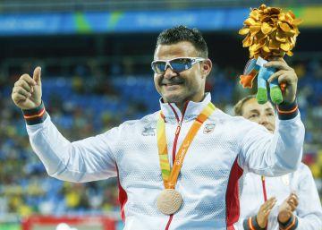 David Casinos amplía su colección de medallas con un bronce en disco