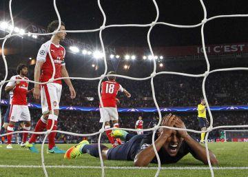 Tropiezo del PSG y goleada del Bayern