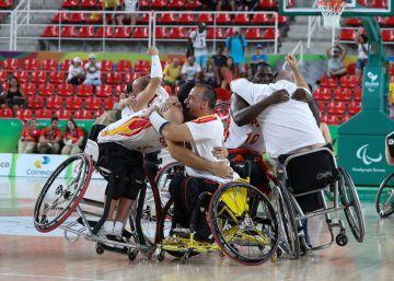 España, semifinalista en baloncesto en silla de ruedas