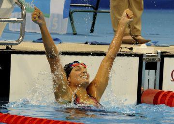 España triunfa en la piscina con cinco medallas