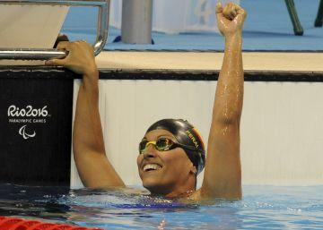 Teresa Perales gana la plata en 200 estilos, la número 24 de su carrera