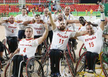 España se enfrentará a EEUU en la final de baloncesto en silla de ruedas