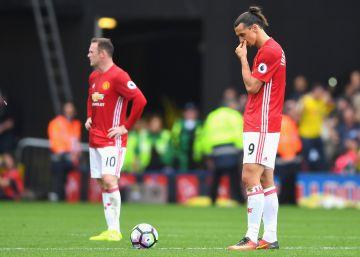 El Manchester United cae ante el Watford por 3 a 1