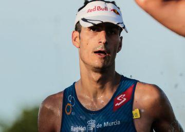 Mario Mola, campeón mundial de triatlón