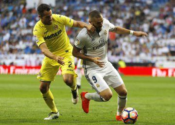 El Real Madrid no pasa del empate ante el Villarreal en el Bernabéu