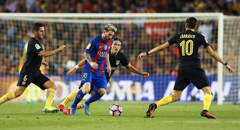 Empate entre Barça y Atlético que no aprovecha el Real Madrid