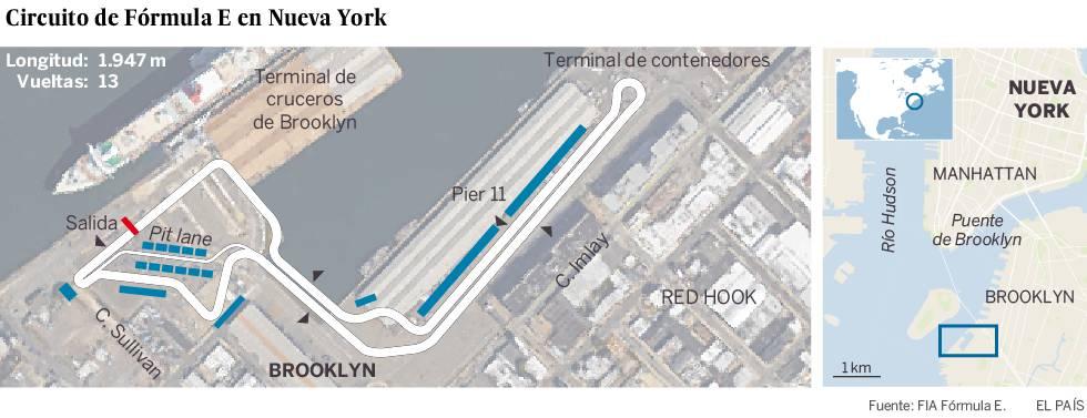 Nueva York acogerá un gran premio de Fórmula E en su tercera temporada