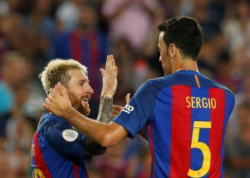 Busquets renova contrato e promete se aposentar no Barça