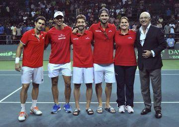 España jugará ante Croacia en su regreso al Grupo Mundial de la Davis