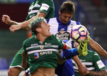 El Leganés remonta al Deportivo
