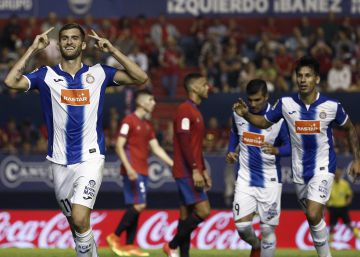 La pegada le da vida al Espanyol