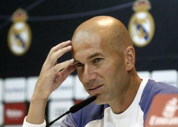 """Zidane: """"A pesar de las bajas, la idea de juego es la misma"""""""