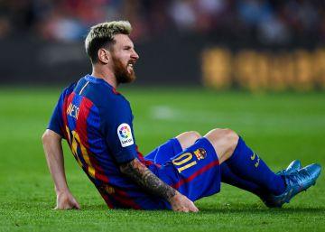 Gráfico: Todas las lesiones de Messi
