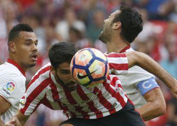 El Athletic tira de inercia ante el Sevilla