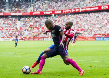 Más destellos que fútbol en el Barça