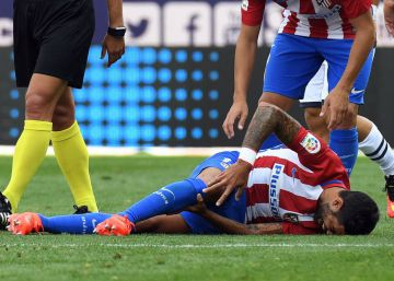 Augusto, rotura de ligamentos y Giménez, lesión muscular