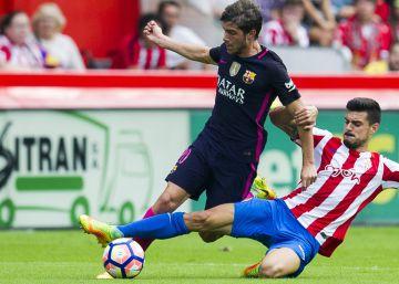 Nadie centra en el Barça como Sergi Roberto