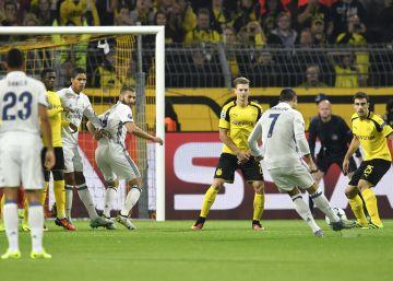 El Dortmund aprovecha la desconexión del Madrid