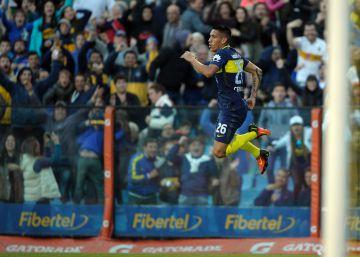 Ricardo Centurión celebra su gol el pasado domingo.