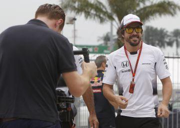 Crece el McLaren; sonríe Fernando Alonso