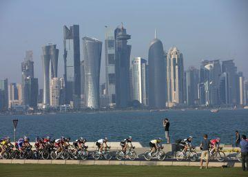 Mundial de ciclismo y supervivencia en Qatar