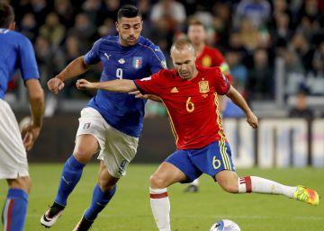 España e Italia empatan en Turín