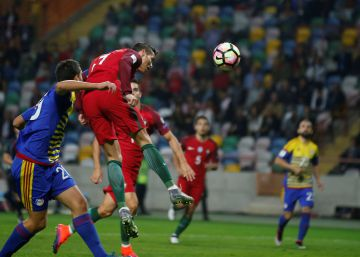 Cristiano coge moral ante Andorra