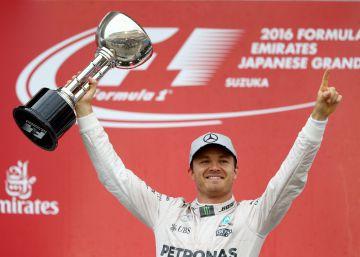 Rosberg gana en Japón