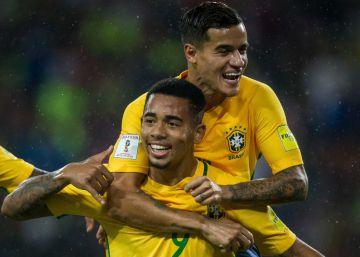 Brasil, sin Neymar, toma el liderato en las eliminatorias sudamericanas