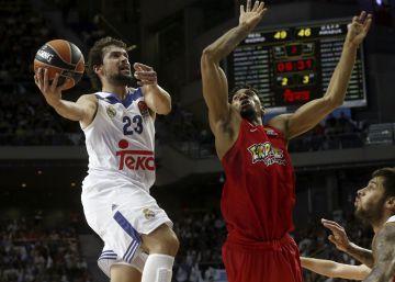 El Real Madrid marca territorio ante Olympiacos en el estreno de la nueva Euroliga