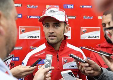 Barberá, piloto oficial de Ducati por un gran premio