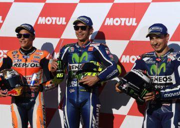 La pole de MotoGP es para Rossi