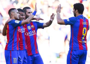 El Barcelona vence al Deportivo en el regreso de Messi