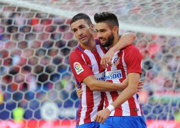 Carrasco se engancha al Atlético