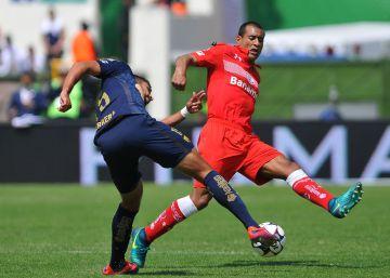 Toluca derrota a Pumas a pesar de Paulo da Silva