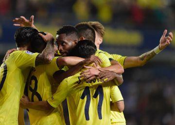 El Villarreal se exhibe ante el Celta