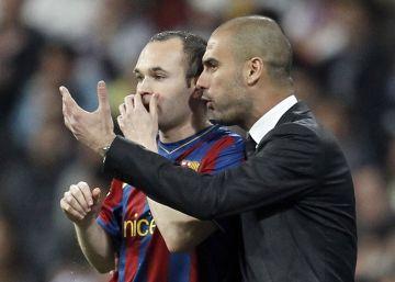 """Iniesta: """"El City se identifica con Guardiola"""""""