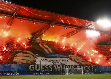 Máxima seguridad en Madrid para controlar a los aficionados del Legia
