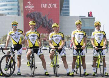 Mientras, Contador se despide del Tinkoff