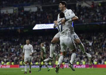 El Madrid golea al Legia en las rebajas