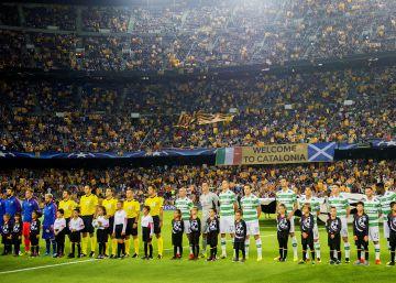 Se volverán a repartir 30.000 esteladas en los aledaños del Camp Nou
