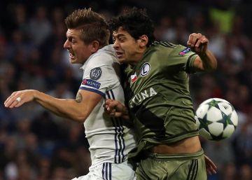 El Madrid golea al Legia (5-1) con Asensio y Morata como protagonistas