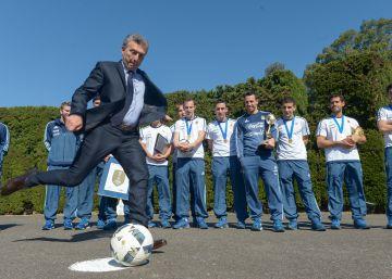 Un enfadado Mauricio Macri pone fin a la financiación pública del fútbol